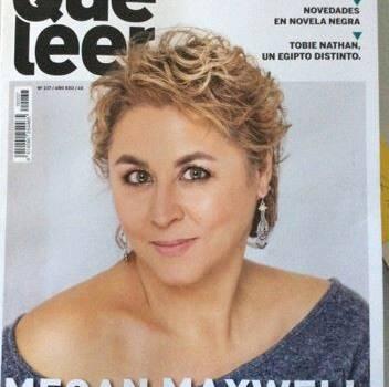 Aparición en la portada de la revista Qué Leer