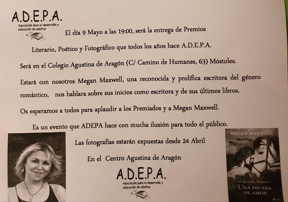 Entrega premios ADEPA, 9 de mayo