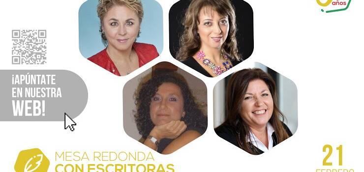 Mesa redonda con escritoras, Viernes 21 de febrero