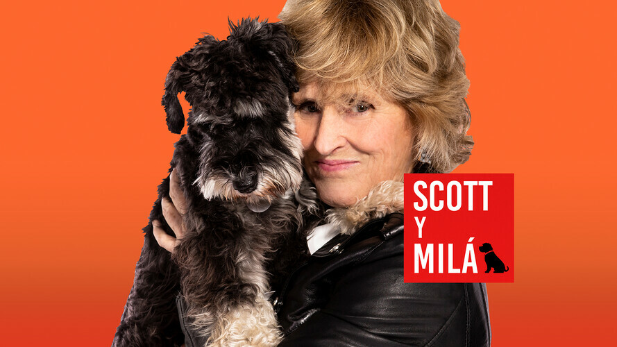 En el canal #0 con Mercedes Milá en el programa Scott y Milá