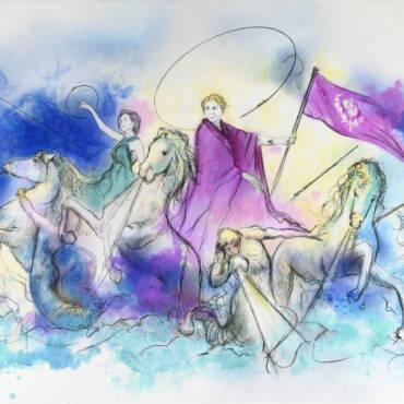 Exposición REFLECTING GODS de Iván M.I.E.D.H.O.
